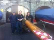 Boathouse Mast Restorations - January 2016