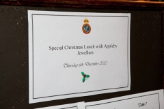 Special Christmas Lunch with Appleby Jewellers - 6 December 2012