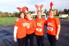 L- R: Clodagh Lyttle, Mary Henry, Heather Craig, and Judy O' Beirne
